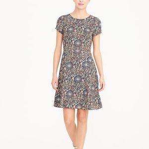 J. Crew | Short Sleeve Flutter Dress 2